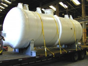Fiberglass Tanks Storage White Mineral Oil